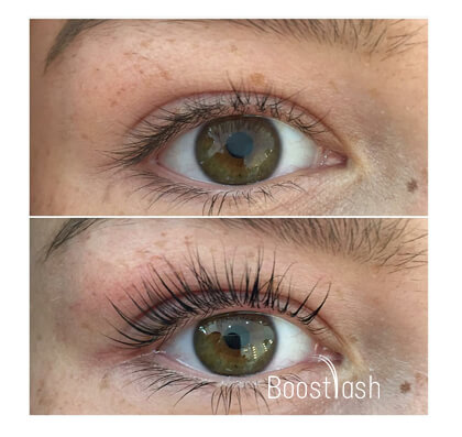 Applying Boostlash Step 2